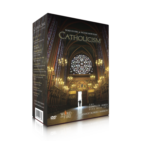 Catholicism Series (Fr Robert Barron) DVD (UK PAL format) Box Set