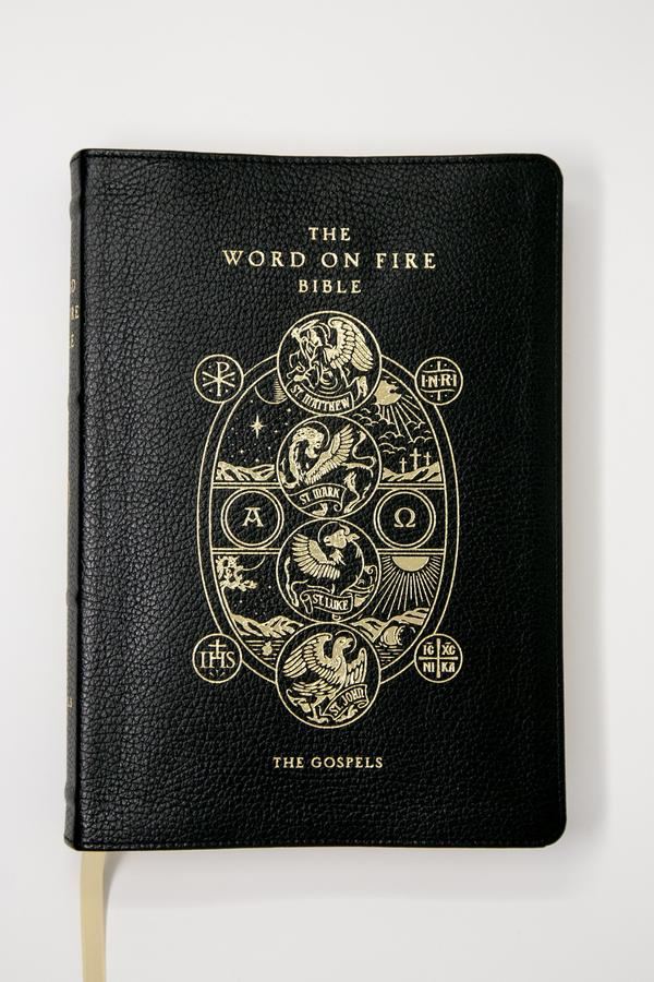 Word on Fire Bible (Volume 1): The Gospels – Leather