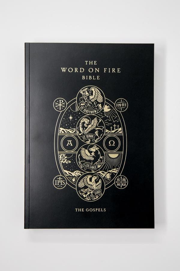 REDUCED PRICE NOW     Word on Fire Bible (Volume 1): The Gospels – Paperback